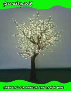 Desain pohon lampu hias GC-GFZCH-1OT(YZ)-2M-WW