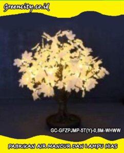 Distributor lampu hias jawa timur GC-GFZPJMP-5T(Y)-0,8M-WHWW