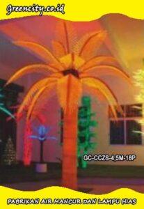 Harga pohon lampu led taman dan tempat wisata GC-CCZS-4,5M-18P