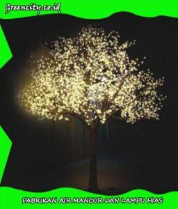 Jual lampu pohon hias led murah type GCGFZBCH-119T-4,5M