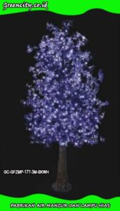 Lampu dekorasi taman bentuk pohon GC-GFZMP-17T-3M-BKWH