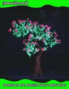 Lampu hias pohon outdoor di surabaya GC-GFZDJH-8T-1,1M