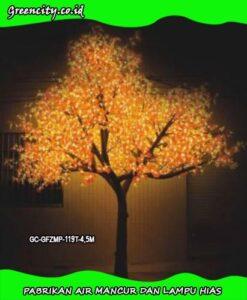 Membuat pohon lampu hias GC-GFZMP-119T-4,5M
