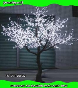 Model lampu hias pohon GC-FZCH-25T-3M