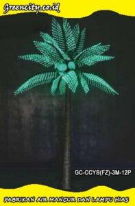 Supplier lampu hias pohon palem murah GC-CCYS(FZ)-3M-12P