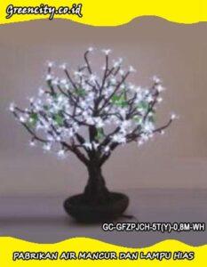 Tempat jual lampu hias bentuk bonsai pohon GC-GFZPJCH-5T(Y)-0,8M-WH