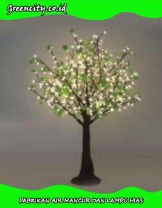 cara membuat pohon lampu hias GC-GFZCH-10T(YZ)-1,5M