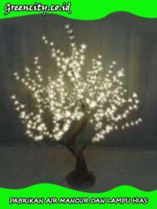 harga lampu hias pohon natal GC-GFZCH-8T-1,5M-WW