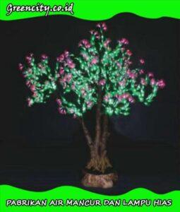lampu hias pohon natal GC-GFZDJH-17T(Y)-1 ,6M