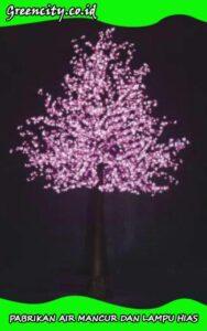 lampu pohon hiasan taman GC-GFZCH-22T-3,5M