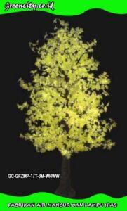macam lampu hias bentuk pohon GC-GFZMP-17T-3M-WHWW