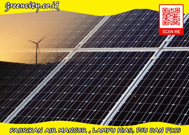 Kami menjual paket plts dengan solar panel kualitas bagus
