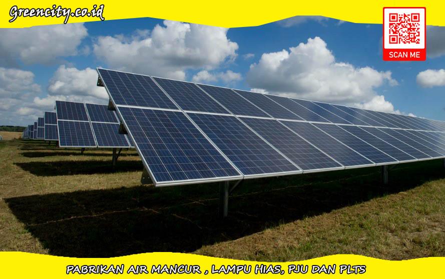 Paket solar panel dan Inverter 30000 watt