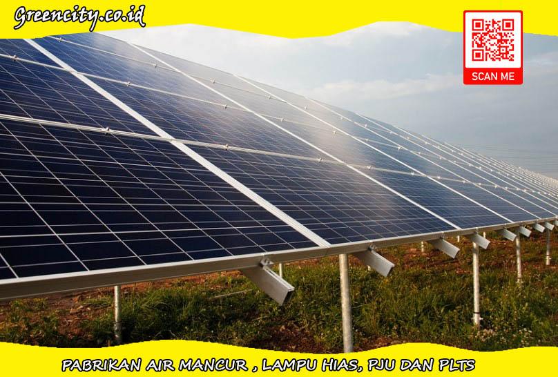 Pembangkit listrik tenaga surya 20KW