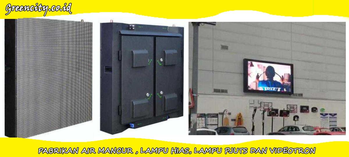 Supplier videotron surabaya P10 untuk outdoor iklan video